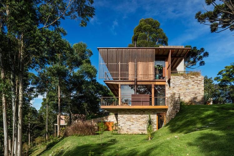 Residência CM / Reinach Mendonça Arquitetos Associados, © Nelson Kon