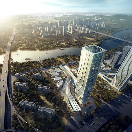 UM Architect's New Zhangjiang City Gate Reconnects Occupants with Nature