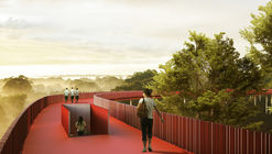 "LOLA, L+CC, and Taller Architects Design ""Romantic"" Forest Trail for Forgotten Sports in Shenzhen"