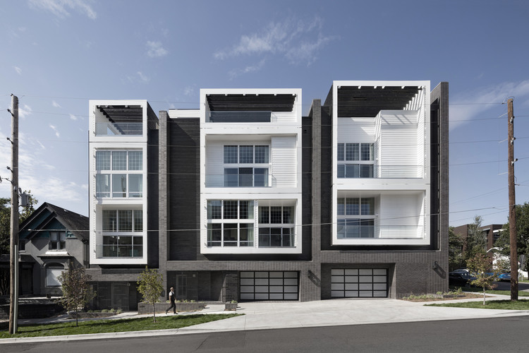 18th & Boulder Townhomes / Meridian 105 Architecture, © Astula, Raul Garcia; Meridian 105