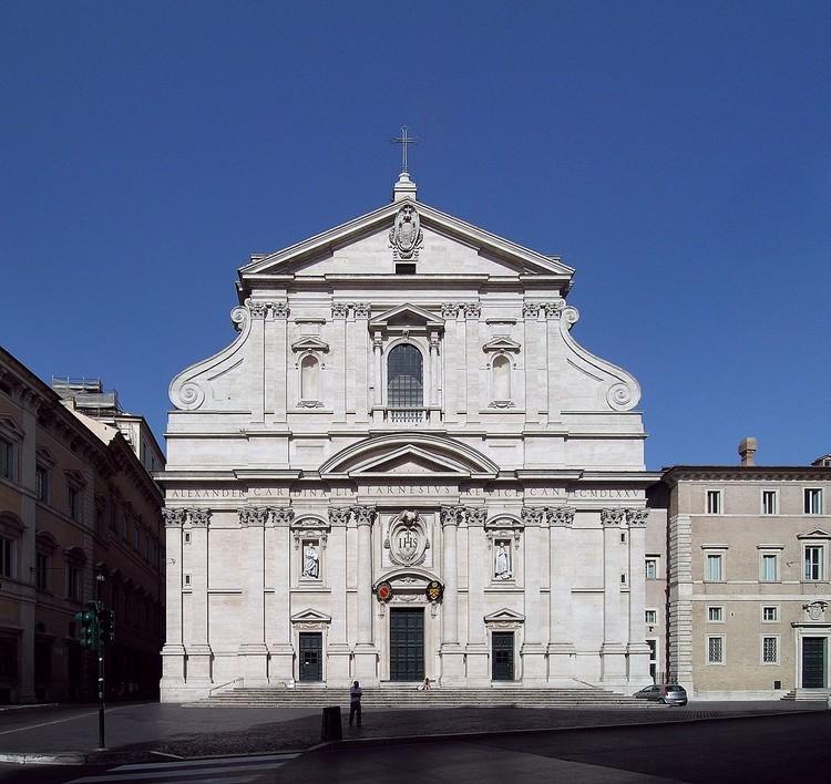 Iglesia de Gesù, Roma. © Alessio Damato, vía Wikimedia. Licencia CC BY-SA 3.0