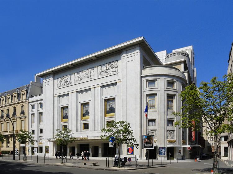 Théâtre des Champs-Élysées, París. © Coldcreation, a través de Wikimedia. Licencia CC BY-SA 3.0