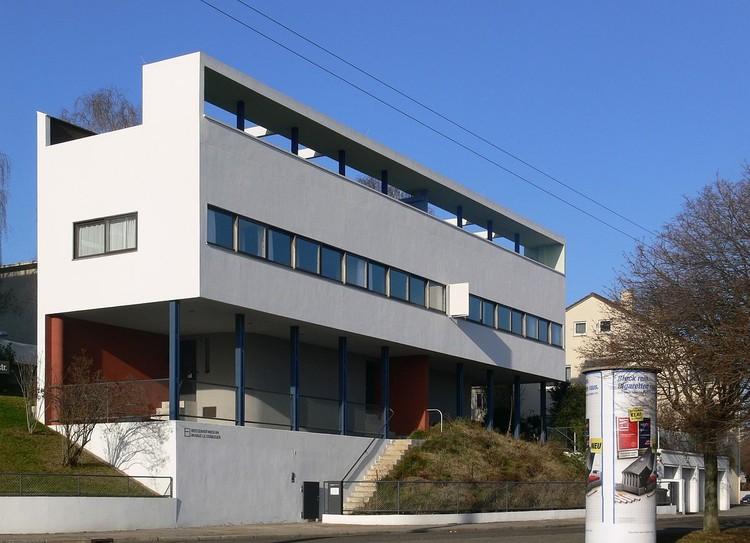 Casa Weissenhof-Siedlung, Stuttgart, diseñada por Le Corbusier. © Andreas Praefcke, a través de Wikimedia. Licencia CC BY 3.0