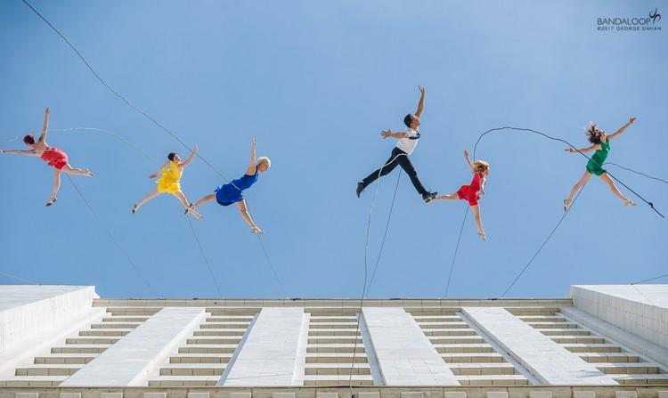 Danza vertical: una nueva forma de explorar la arquitectura, vía BANDALOOP