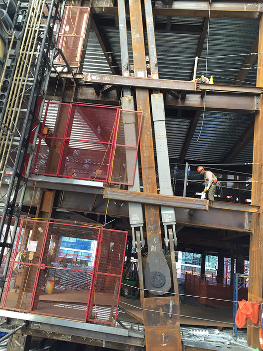 Taylor Devices' viscous damper system requires extensive analysis and modeling, but the advantage is that it more effectively redistributes seismic forces—increasing the resilience of the building and offering greater safety for its occupants. Image Courtesy of Arup