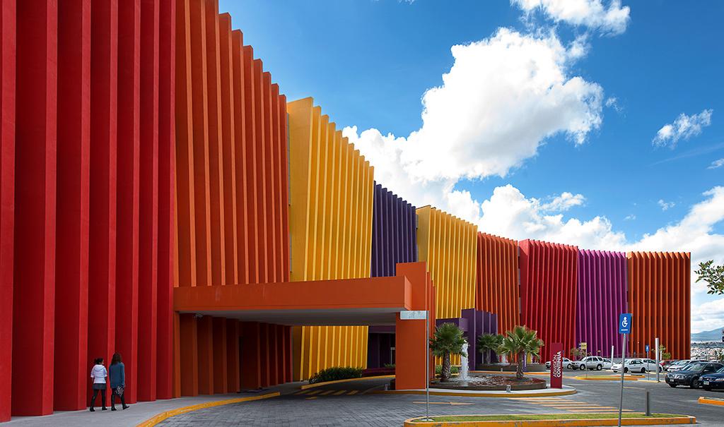 Un tributo al color de la arquitectura mexicana contemporánea