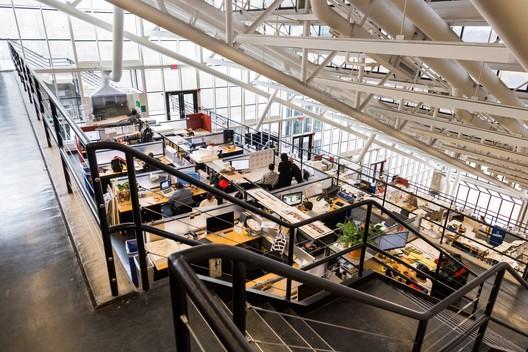 The Trays at Gund Hall. Image Courtesy of Harvard GSD