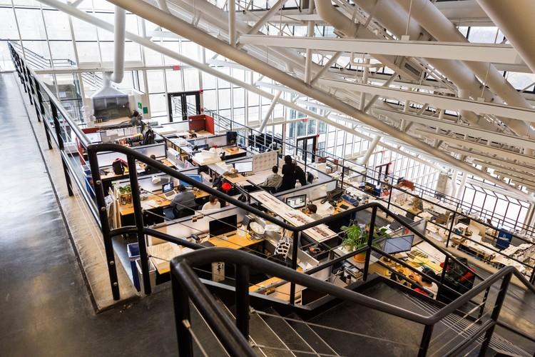 """Herzog & de Meuron e Beyer Blinder Belle selecionados pela Harvard GSD para projetar """"expansão transformadora"""" do seu prédio, Ateliês no Gund Hall. Cortesia de Harvard GSD"""