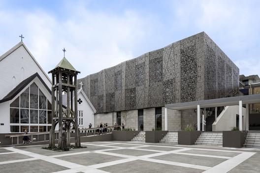 Centro de Música y Drama de la Escuela Diocesana de Auckland / McIldowie Partners + Upton Architects