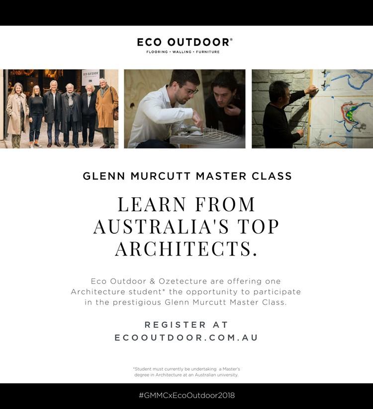 Glenn Murcutt Master Class Student Intern Competition, Enter the Glenn Murcutt Student Master Class Competition