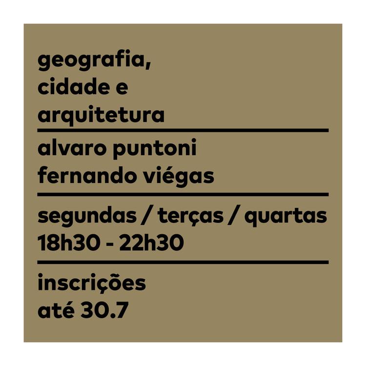 Pós-Graduação 'Geografia, Cidade e Arquitetura' - Inscrições Abertas I Escola da Cidade, Inscrições Abertas até 30/07