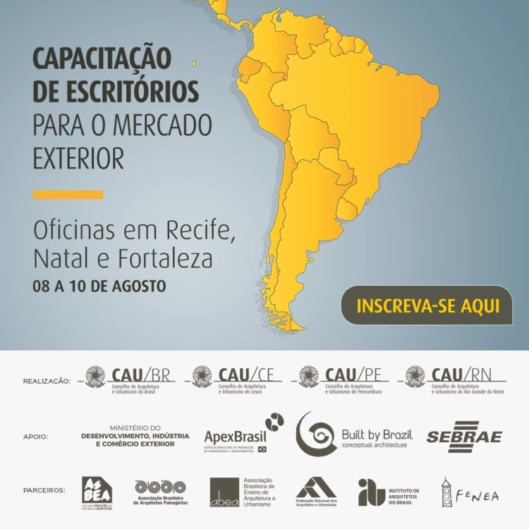 Capacitação para o Mercado Exterior: Oficinas gratuitas em Recife, Natal e Fortaleza