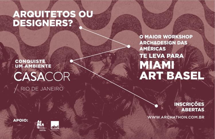 Archathon Rio | O maior workshop Arch&Design das Américas , Inscreva-se para o Archathon