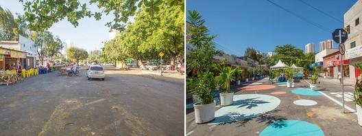 Antes y después en Cidade 2000. © Rodrigo Capote/WRI Brasil