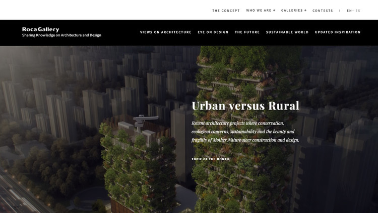 A New Web Platform On Architecture And Design Has Launched ArchDaily - Game architecture and design