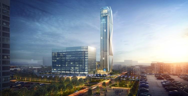 Thyssenkrupp testeará ascensores de última generación en su nuevo rascacielos en Atlanta, Cortesía de Thyssenkrupp