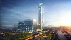 """Thyssenkrupp's """"High-Rise Elevator Test Tower"""" in Atlanta to Experiment with Cable-Free, Sideways-Moving Systems"""