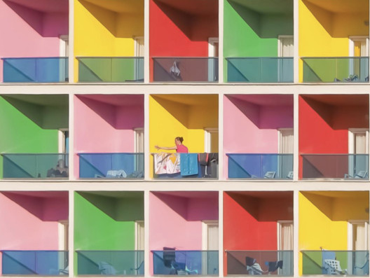 This Photographer Captures the Rainbow Architecture of Istanbul
