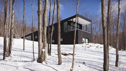 Casa rural en Sutton / Paul Bernier Architecte