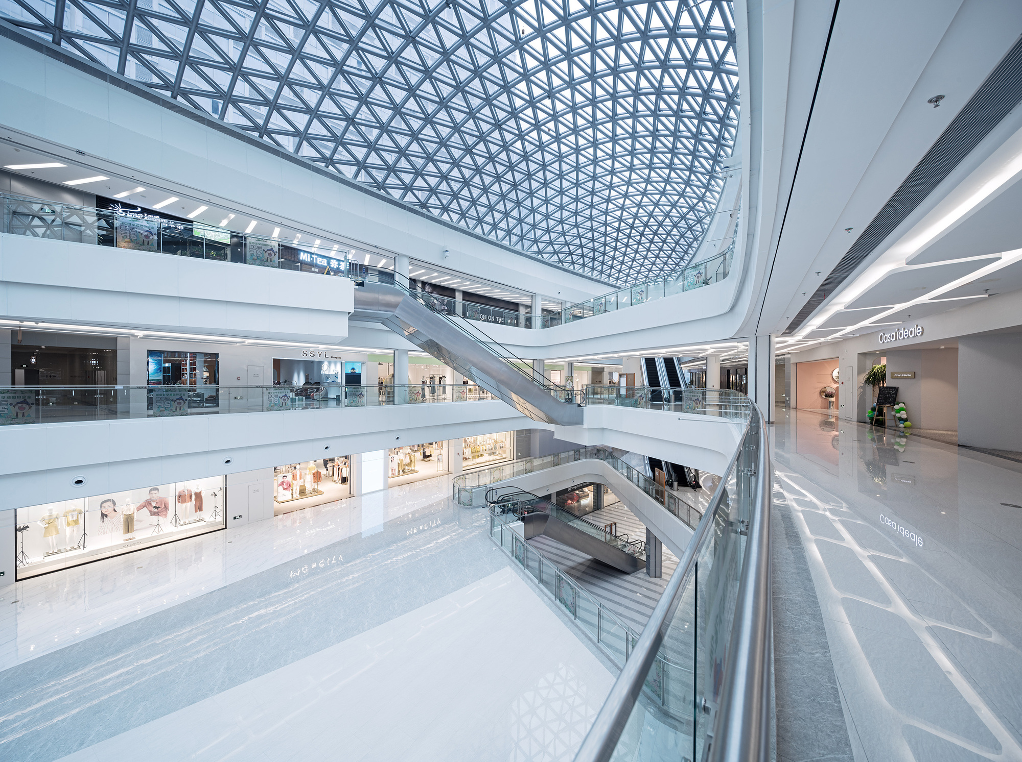 Shaoxing ctc mall interior design atah archdaily - Interior design shopping websites ...