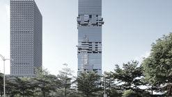 SBF Tower / Hans Hollein & Christoph Monschein
