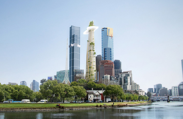 MAD Architects propõe novo arranha-céu para Melbourne, Cortesia de MAD