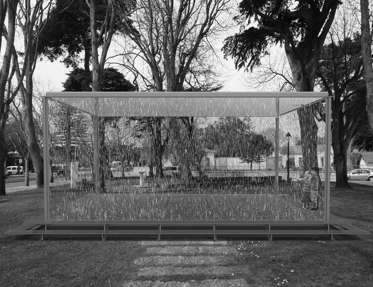Inês Abreu Ribeiro vence Concurso Internacional de Ideias Sommer Pavilion, Projeto vencedor. Image Cortesia de OASRS