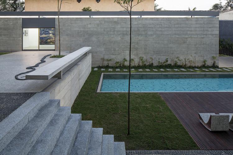 Pavilhão / METRO Arquitetos. Imagen © Leonardo Finotti
