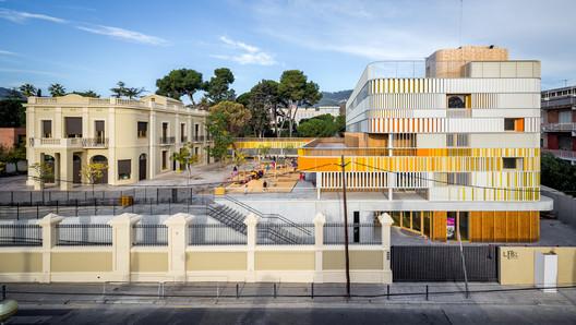Lycée Français Maternelle in Barcelona / b720 Fermín Vázquez Arquitectos