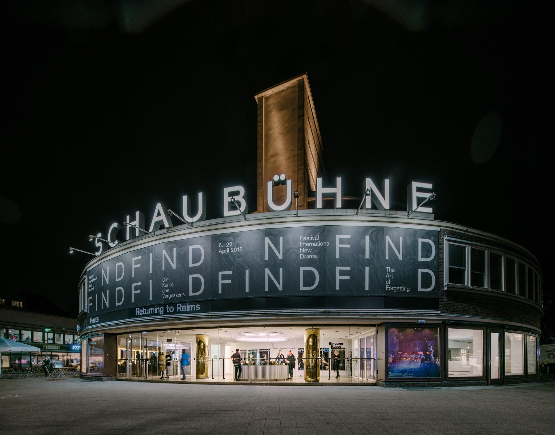 Reception Area of the Schaubühne Berlin / Barkow Leibinger