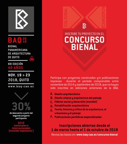 Concurso Bienal Panamericana de Arquitectura de Quito