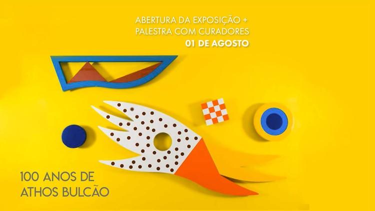 """Exposição """"100 anos de Athos Bulcão"""" no Centro Cultural Banco do Brasil de São Paulo"""