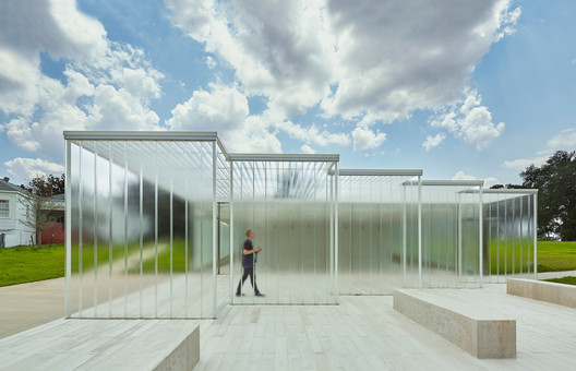Magnolia Mound Visitors Center / Trahan Architects. Image © Timothy Hursley