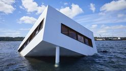 La Villa Savoye de Le Corbusier se hunde en Dinamarca