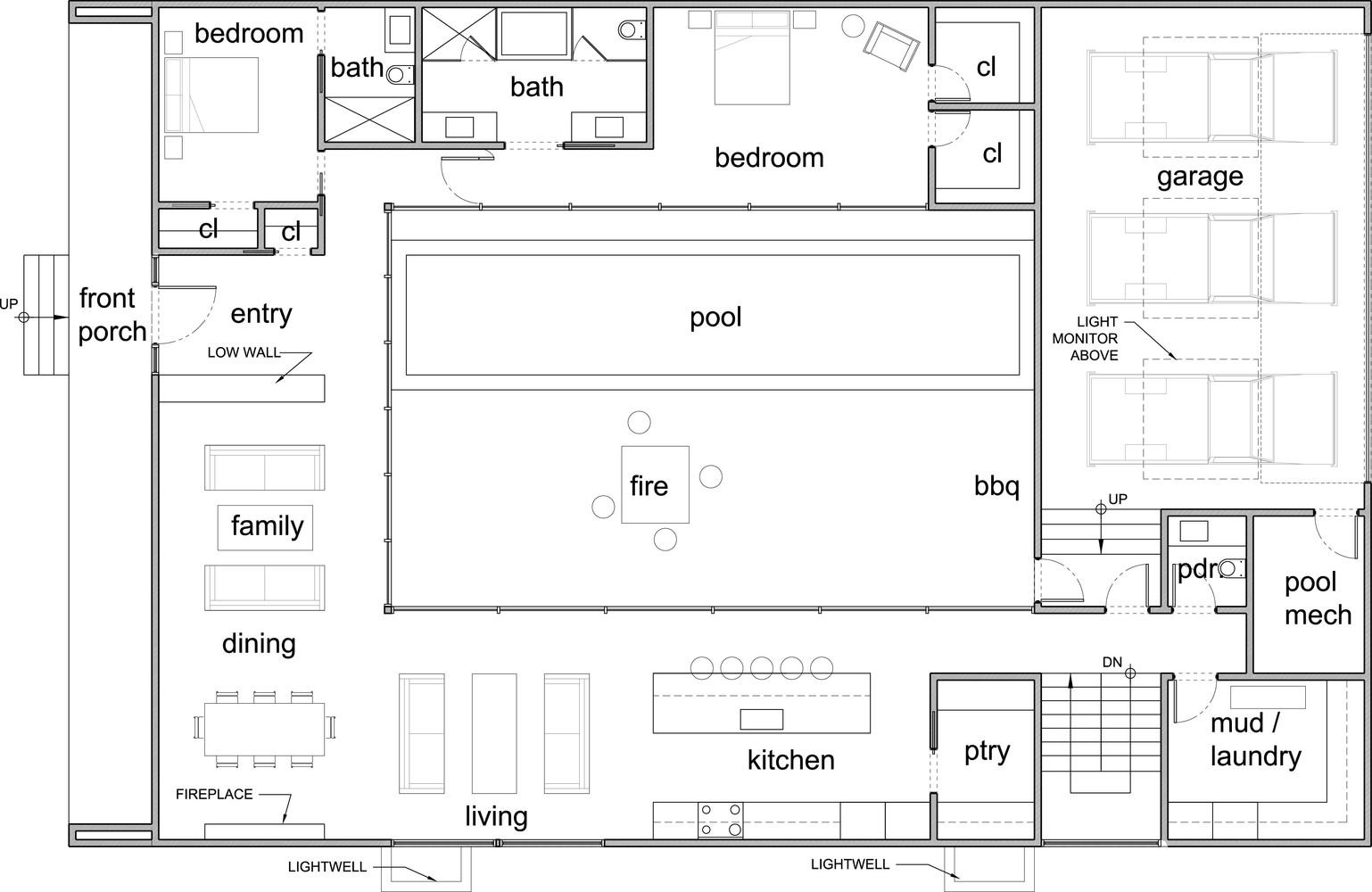 Gallery Of Brick City House Studio B Architecture Interiors 14