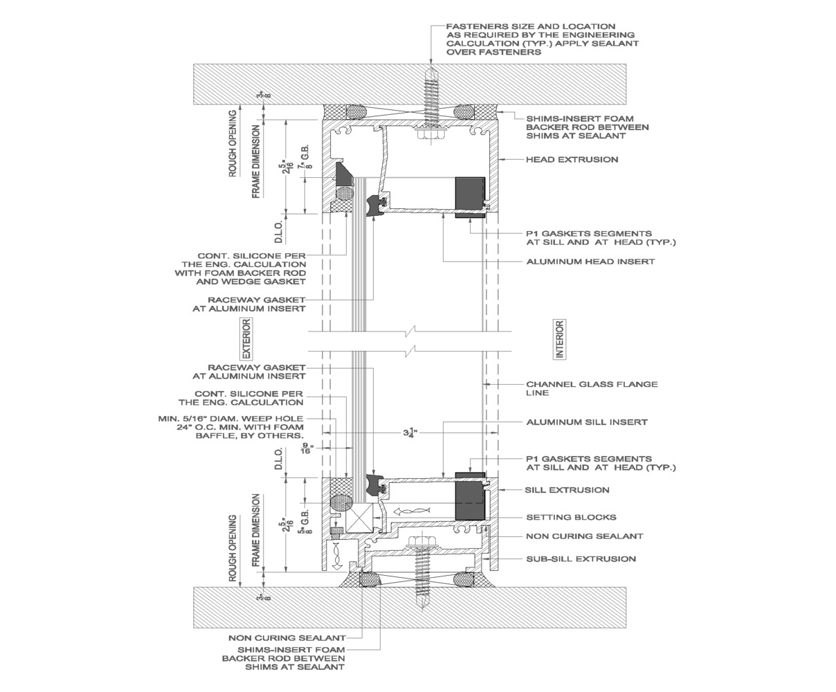 Wall Schematic Engineering Diagram Wiring Library Supply Smps Circuit Images Frompo Diffused Light How To Design Lantern Buildings With Self Supporting Glass Walls