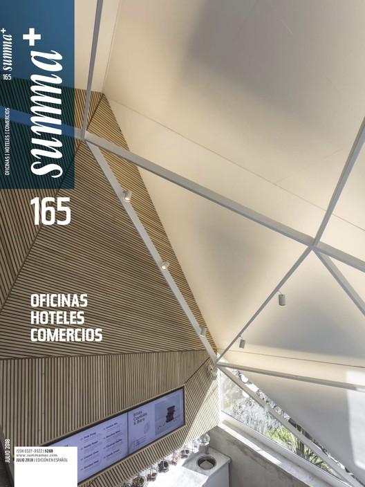 Summa+ 165 : Oficinas, hoteles y comercios, Tapa Summa+ 165, Edición Julio 2018, Hoteles, Comercios y Oficinas