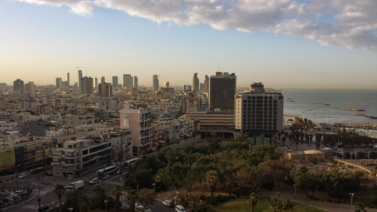 "Tel Aviv. Image via flickr user ""Tim Rochte"" licensed under CC BY 2.0"