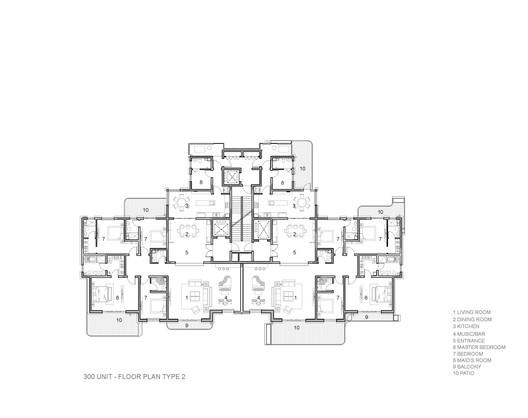 300 Unit Floor Plan Type 2