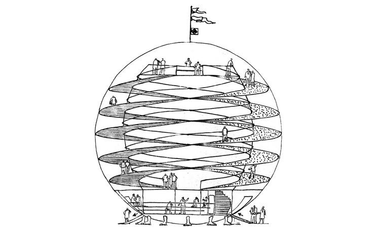 As residências de Eduardo Longo: utopia e experimentação, Pavilhão da Utopia. Image Cortesia de Eduardo Longo