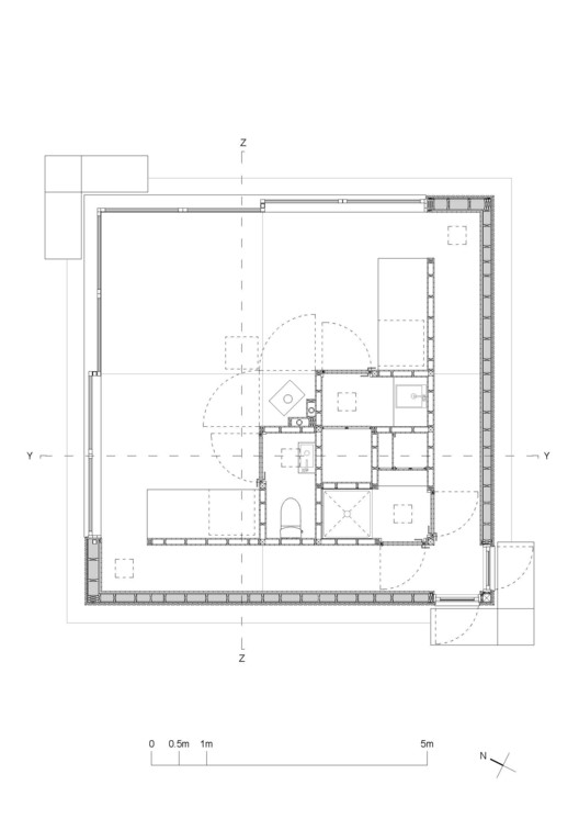 Ground Floor plan 1:50