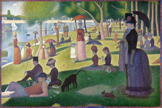 Georges Seurat, A Sunday Afternoon on the Island of La Grande Jatte