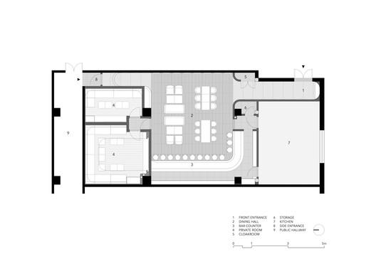 Plan. Image Courtesy of Imafuku Architects