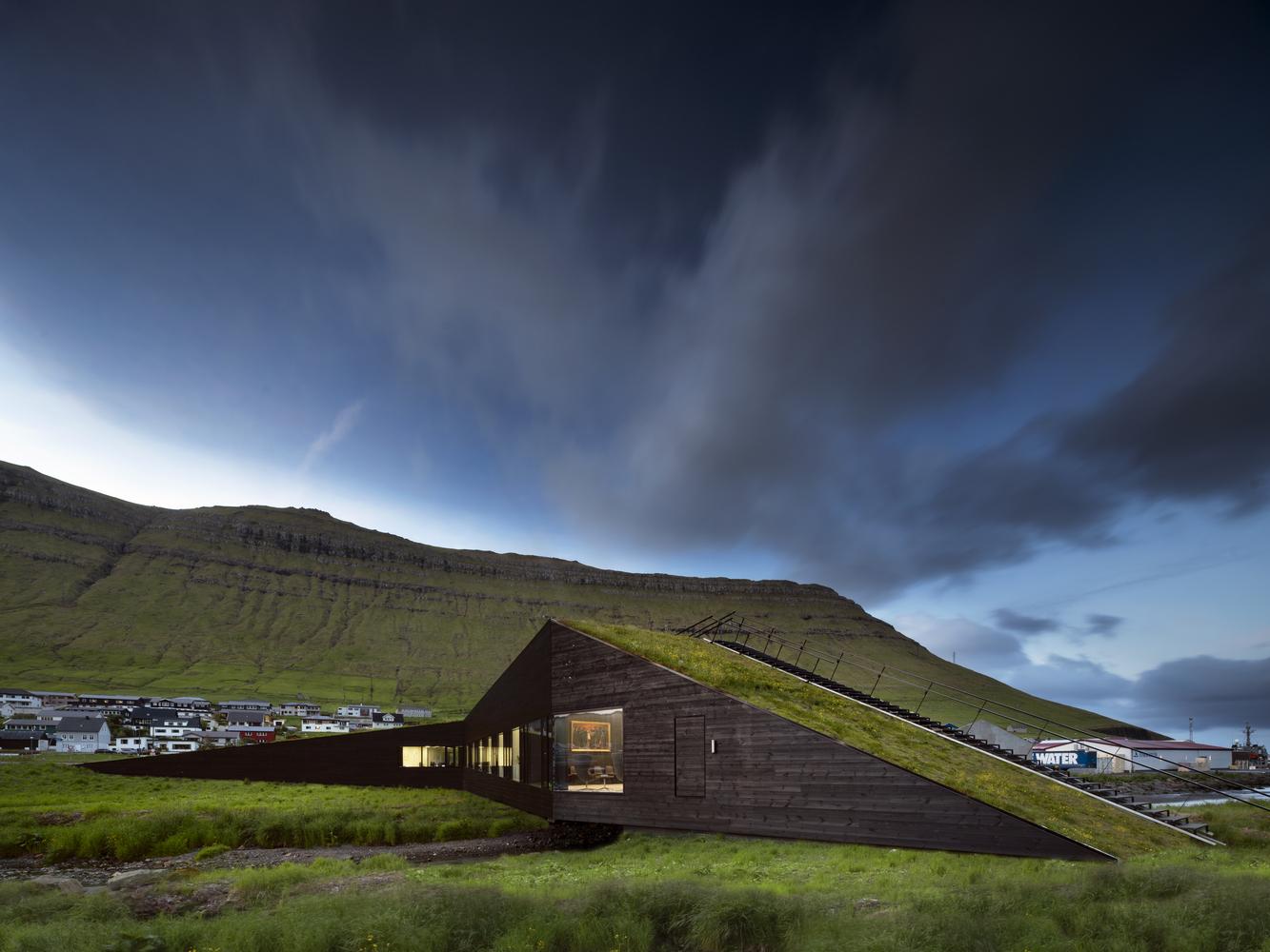 Ратуша Эйстюркоммуна на Фарерских островах