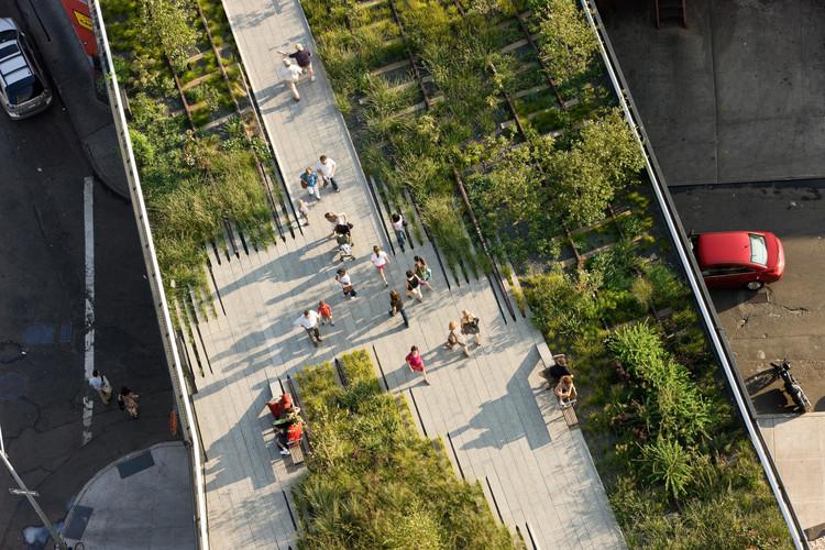Reflexiones sobre los cambios en la ciudad de Nueva York: High Line , © Iwan Baan