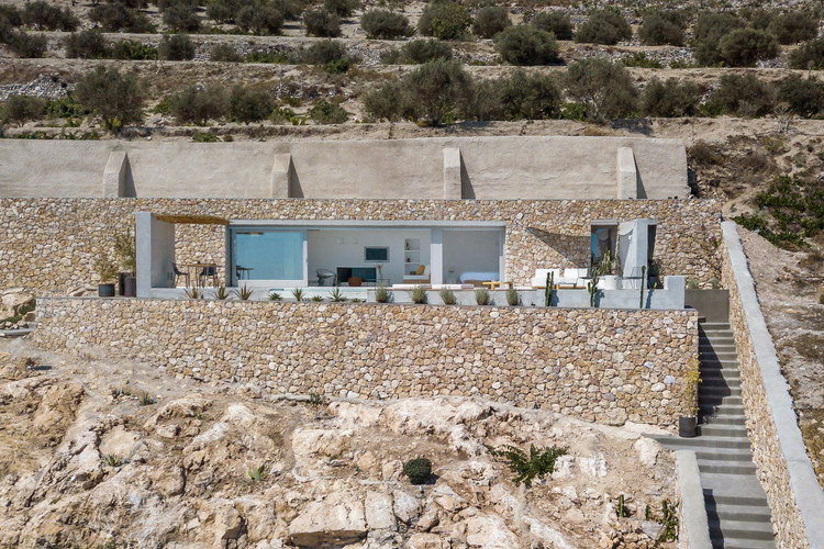 Holiday House on Prophet Ilias Mountain / Kapsimalis Architects, © Giorgos Sfakianakis