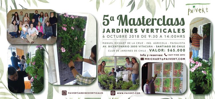 5ª Masterclass jardines verticales