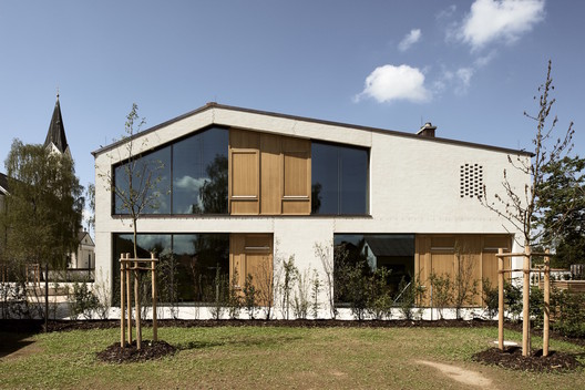 New Construction of a Parish House / Kunze Seeholzer Architekten