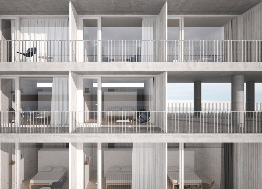 Brilliant Gallery Of David Chipperfield Architects Create New Hostel Download Free Architecture Designs Lukepmadebymaigaardcom