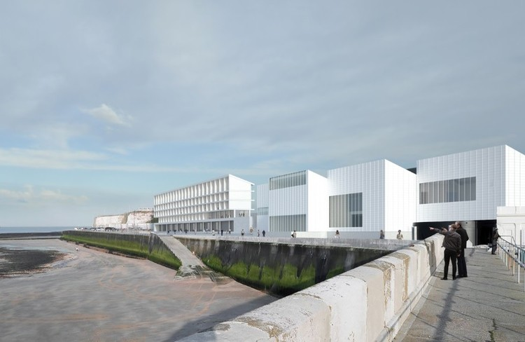 David Chipperfield Architects Create New Hostel Design to Help Spur Margate's Revival, The Turner Rooms. Image Courtesy of David Chipperfield Architects